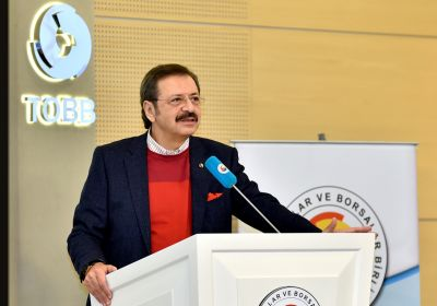 Hisarcıklıoğlu calls on companies to 'convey your..